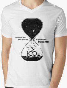 The 100 - Hourglass Mens V-Neck T-Shirt