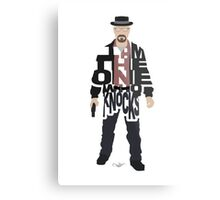 I Am The One Who Knocks Heisenberg Metal Print