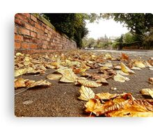 Paved With Gold Canvas Print