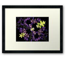 Strange Flowers Framed Print