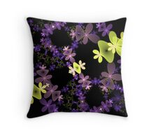 Strange Flowers Throw Pillow