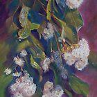 Flowering Grey Box by Lynda Robinson
