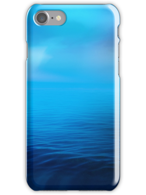 The Big Blue I for iPhone Case by Lena Weiss