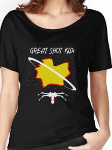 Great Shot Kid! - Han Solo Quote Women's Relaxed Fit T-Shirt