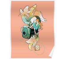 Thumbelina - Peach Poster