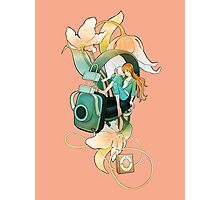 Thumbelina - Peach Photographic Print
