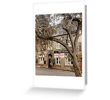 The Plough - Ormskirk Greeting Card