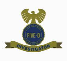 Hawaii Five-0 Investigator Kids Tee
