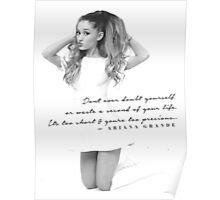 Ariana Grande Quote #2 Poster