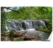 The Weir at Monsal Dale Poster