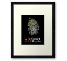 Bill O'Reilly: A Pinhead's War HIStories Framed Print