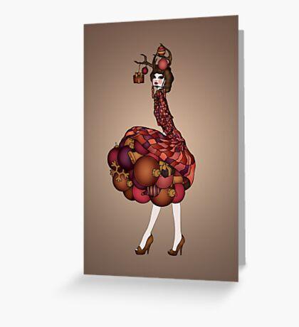 Dollhouse Greeting Card