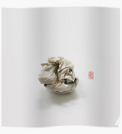 """Failed Sumi"" Origami Poster"