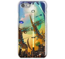PORT XG-5938 IN THE QUILL REGION OF THE DUJORGANA SECTOR ( The New Earth) iPhone Case/Skin