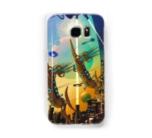 PORT XG-5938 IN THE QUILL REGION OF THE DUJORGANA SECTOR ( The New Earth) Samsung Galaxy Case/Skin