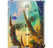PORT XG-5938 IN THE QUILL REGION OF THE DUJORGANA SECTOR ( The New Earth) iPad Case/Skin