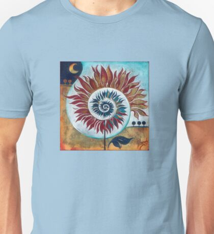 """""""At the Edge of Day and Night"""" from the series """"Tales from the Unknown Book"""" Unisex T-Shirt"""