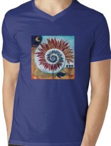 """At the Edge of Day and Night"" from the series ""Tales from the Unknown Book"" Mens V-Neck T-Shirt"