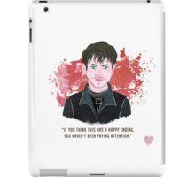 Ramsay Bolton, no happy endings... iPad Case/Skin