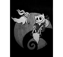 The Nightmare Before Adventure Time Photographic Print
