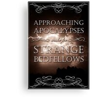 Approaching Apocalypses Canvas Print