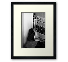Conspiracy Theory ... Framed Print