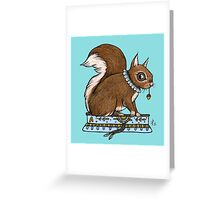 Antonia's Squirrel Greeting Card