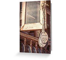Hanging 18 Greeting Card