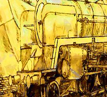 Steam Loco iPhone Case by Dennis Melling