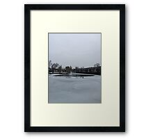Winter is Coming... Framed Print