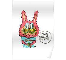Feminist Bunny  Poster