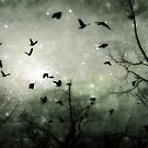 Celestial Night of the crows by gothicolors