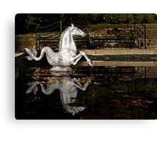 The Sea Horse at Winterthur Canvas Print