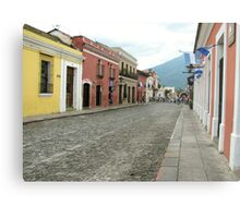 Antigua streetscape Metal Print