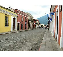 Antigua streetscape Photographic Print