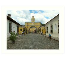 Antigua arch Art Print
