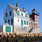 Rockland Breakwater Lighthouse II by PhotosByHealy