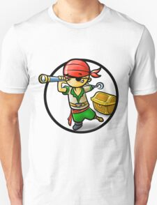 Cute Pirate cartoon T-Shirt