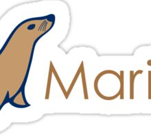 MariaDB logo Sticker