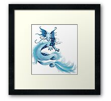 Ryu Dragon Framed Print