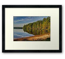 Autumn Reflections in Loch Garten Framed Print