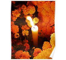 Marigolds de muertos Poster