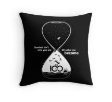 The 100 - Hourglass Throw Pillow