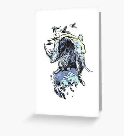 Extinction Greeting Card