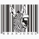 Zebra Tshirt by ArtNouveau