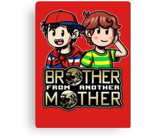 Another MOTHER - Ninten & Travis (alt) Canvas Print