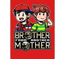 Another MOTHER - Ninten & Travis (alt) Photographic Print