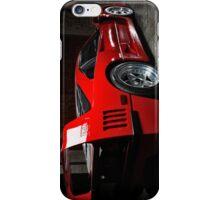 Red Ferrari F40 iPhone Case iPhone Case/Skin