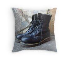 Dr Martens Boots Throw Pillow