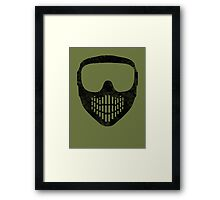 Goggles  MUST be Worn at All Times! Framed Print